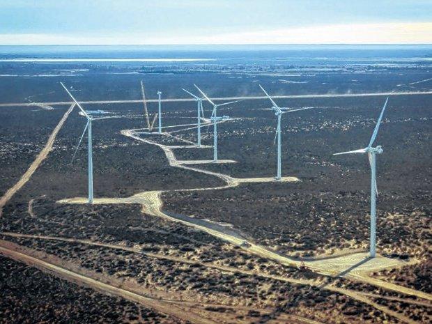Resultado de imagen para parque eolico corti